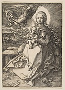 Virgin and Child Crowned by an Angel