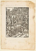 Christ Nailed to The Cross, from The Small Passion, edition Venice, 1612