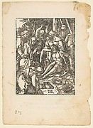 The Lamentation, from The Small Passion, edition Venice, 1612