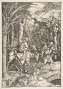 The Flight into Egypt, from The Life of the Virgin, Latin edition, 1511