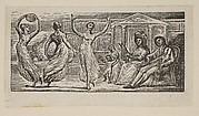 Menalcus Watching Women Dance, from Thornton's Pastorals of Virgil