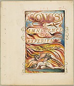 Songs of Innocence and of Experience, Shewing the Two Contrary States of the Human Soul: Combined Title Page