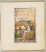 Songs of Innocence and of Experience: Little Black Boy (second plate)