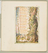 Songs of Innocence and of Experience: The Little Girl Found (second plate)