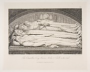The Counsellor, King, Warrior, Mother & Child in the Tomb, from The Grave, a Poem by Robert Blair