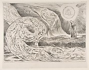 The Circle of the Lustful: Paolo and Francesca, from Dante's Inferno, Canto V