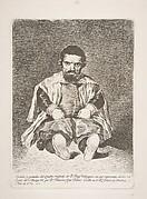 A dwarf (Un enano) Portrait of Sebastian de Morra
