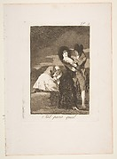 Plate 5 from 'Los Caprichos': Two of a kind (Tal para qual)