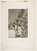 Plate 43 from 'Los Caprichos': The sleep of reason produces monsters (El sueño de la razon produce monstruos)