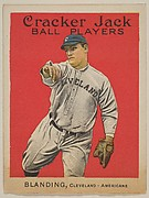 Blanding, Cleveland, American League, from the Ball Players series (E145) for Cracker Jack