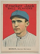Moran, Boston, National League, from the Ball Players series (E145) for Cracker Jack