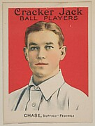 Chase, Buffalo, Federal League, from the Ball Players series (E145) for Cracker Jack