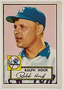 Ralph Houk, from the 1952 Topps Issue