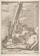 Christ and the Virgin at the Foot of the Cross