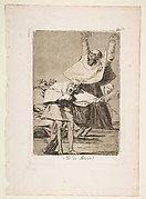 Plate 80 from 'Los Caprichos': It is time (Ya es hora.)