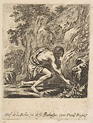 St. John the Baptist Drawing Water from a Spring
