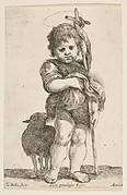 The Infant St. John the Baptist Holding up His Robe