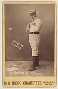 Icebox Chamberlain, Pitcher, St. Louis Browns, from the series Old Judge Cigarettes