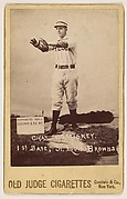 Charles Comiskey, 1st Base, St. Louis Browns, from the series Old Judge Cigarettes