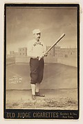 Hanton, Center Field, Detroit, from the series Old Judge Cigarettes