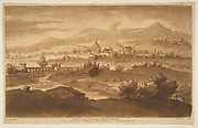 View of Rome and Surrounding Country