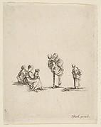 Four Beggar Women