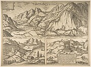 Innsbruck from the series Civitates Orbis Terrarum, vol. V, plate 59