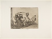 Plate 67  from 'The Disasters of War' (Los Desastres de la Guerra): 'This is not less so.' (Esta no lo es menos.)