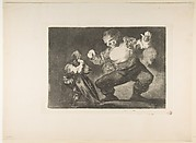 Plate 4 from the 'Disparates': Simpleton