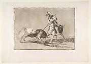 El Cid Campeador lanceando otro toro (The Cid Campeador Spearing Another Bull)