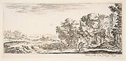 Two Pilgrims View Ruins