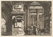 Funerary Scene in a Temple
