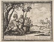 The Prodigal Son Guarding Pigs (L'Enfant prodigue garde les cochons)