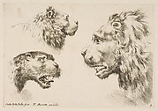 Heads of Three Lions