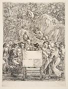 Parnassus, frontispiece to Les Oeuvres de Scarron