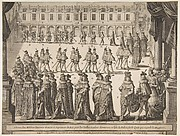Order of the Chevaliers Marching at Fontainebleau in May 1633 (L'Ordre et Disposition du Marcher)