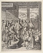 Louis XIII Listens to the Provost of the Merchants of Paris on December 23, 1628 (Le Roi Louis XIII écoute la harangue du prévôt des Marchands de Paris)