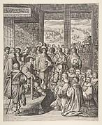 Louis XIII Listens to the Provost of the Merchants of Paris on December 23, 1628 (Le Roi Louis XIII écoute la harangue du prévôt des Marchands de Paris)