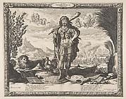 Louis XIII as Hercules