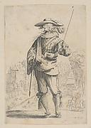 A Man Holding a Crop (Le Saint-Esprit)
