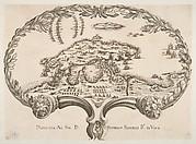 Topographic Plan (Porto Ercole?) in the Shape of a Fan