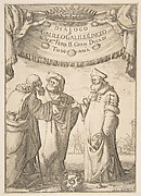 Frontispiece for Dialogo di Galileo Galilei