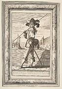 A Pikeman (Un garde française cuirassé)