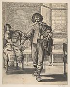Courtier Following Edict Against Superfluity in Dress (Le Courtisan suivant le dernier édit)