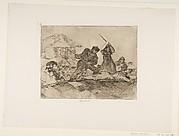 Rabble (Populacho), from The Disasters of War (Los Desastres de la Guerra), plate 28