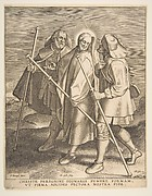 Christ and the Disciples on the Way to Emmaus