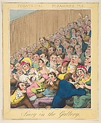 Theatrical Pleasures, ( Snug in the Gallery, Plate 3)