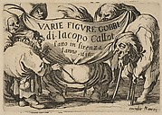 Frontispiece, from Varie Figure Gobbi, suite appelée aussi Les Bossus, Les Pygmées, Les Nains Grotesques (Various Hunchbacked Figures, The Hunchbacks, The Pygmes, The Grotesque Dwarfs)