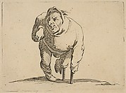 L'Estropié a la Béquille et a La Jambe de Bois (The Cripple with a Crutch and a Wooden Leg), from Varie Figure Gobbi, suite appelée aussi Les Bossus, Les Pygmées, Les Nains Grotesques (Various Hunchbacked Figures, The Hunchbacks, The Pygmes, The Grotesque Dwarfs)