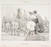 Grands Sauteurs!, from La Caricature